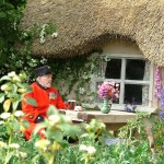 Chelsea Pensioner at Chelsea Flower Show, 2005