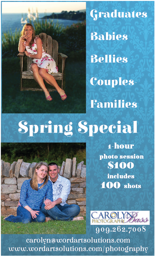 Spring Photo Special